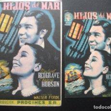 Cine: HIJOS DEL MAR, MICHAEL REDGRAVE, VARIANTE. Lote 219672310