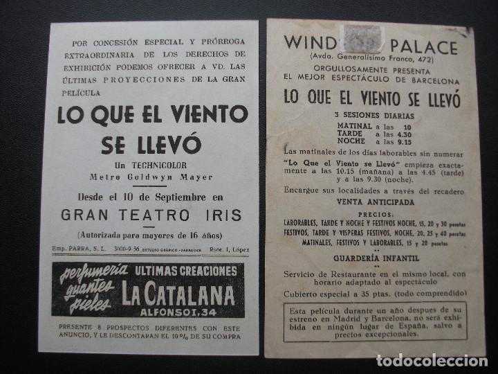 Cine: LO QUE EL VIENTO SE LLEVÓ, CLARK GABLE, VARIANTE - Foto 2 - 219685058