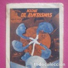 Cine: NOCHE DE FANTASMAS BEN LYON ZASU PITTS ART FILM PROGRAMA DOBLE. Lote 220248696