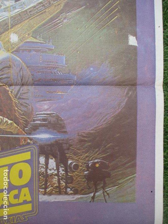 Cine: CARTEL CINE LA GUERRA DE LAS GALAXIAS EL IMPERIO CONTRAATACA CONTRATACA HARRISON FORD 1980 C1150 - Foto 2 - 220265538