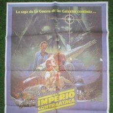 Cine: CARTEL CINE LA GUERRA DE LAS GALAXIAS EL IMPERIO CONTRAATACA HARRISON FORD 1980 C1150. Lote 220265538