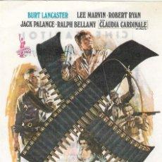 Folhetos de mão de filmes antigos de cinema: PN - PROGRAMA DE CINE - LOS PROFESIONALES - BURT LANCASTER, CLAUDIA CARDINALES - CINE CAPITOL 1978. Lote 220403778