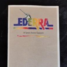 "Folhetos de mão de filmes antigos de cinema: PROGRAMA DEL TEATRO ESPAÑOL DE LA OBRA "" EDERRA "" AÑO 1983.. Lote 220493966"