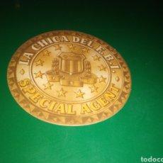 Cine: ANTIGUO PROGRAMA DE CINE TROQUELADO. LA CHICA DEL FBI. Lote 220788991