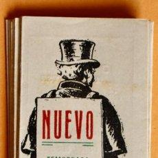 Cine: PROGRAMA DE CINE MÚLTIPLE - CINE NUEVO. TEMPORADA 1948 - DODGE CIUDAD SIN LEY, PASIÓN DE LOS FUERTES. Lote 220845810