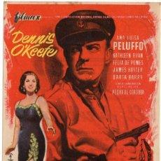 Cine: FOLLETO DE MANO - EL AVENTURERO - CINE COLISEUM - TARRAGONA - AÑO 1967. Lote 220886117
