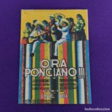 Cine: PROGRAMA DE CINE ORIGINAL. ORA PONCIANO. DOBLE.. Lote 220999751