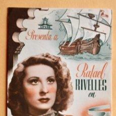 Cine: EL CAPITÁN TORMENTA, CON RAFAEL RIVELLES.. Lote 221261930