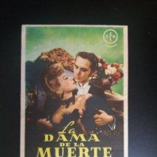 Cine: LA DAMA DE LA MUERTE. Lote 221269922