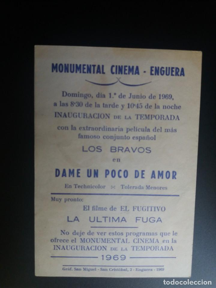 Cine: Dame un poco de amor con publicidad Monumental Cinema Enguera - Foto 2 - 221271163