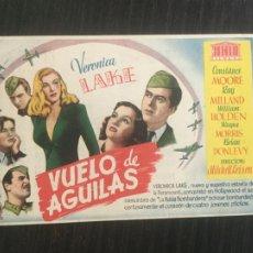 Cine: VUELO DE ÁGUILAS - PROGRAMA DE CINE BADALONA C/P. Lote 221285437