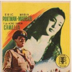 Cine: FOLLETO DE MANO - LA RUTA DEL CAIRO - ERIC PORTMAN / MARIA MAUBAN - DORSO EN BLANCO -1950. Lote 221289768