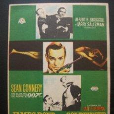 Cine: JAMES BOND CONTRA GOLDFINGER, SEAN CONNERY. Lote 221363853