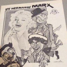 Cine: LOS HERMANOS MARX AMOR EN CONSERVAS CB. Lote 221434613