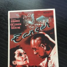 Cine: TANGER - PROGRAMA DE CINE BADALONA - C/P. Lote 221495975