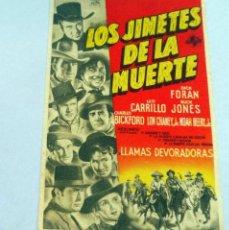 Cine: PROGRAMA DE CINE - LOS JINETES DE LA MUERTE - S/P. Lote 221531778