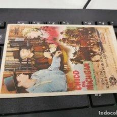 Cine: PROGRAMA DE MANO ORIG - EL CHICO DE MICHIGAN - CON CINE COLISEO IMPRESO DORSO. Lote 221561027