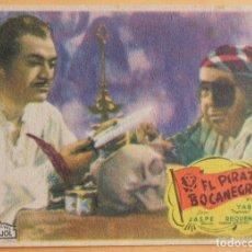Cine: EL PIRATA BOCANEGRA ARAJOL PROGRAMA DE CINE. Lote 221562107