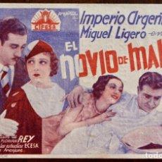 Cine: EL NOVIO DE MAMÁ, IMPERIO ARGENTINA,1934. Lote 221563302