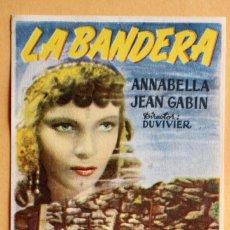 Cine: LA BANDERA - ANNABELLA - JEAN GABIN - DUVIVIER. Lote 221566976