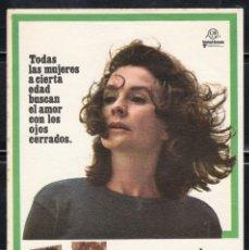Cine: PROGRAMA DE CINE CON LOS OJOS CERRADOS. JEAN SIMMONS / JOHN FORSYTHE. B. Lote 221577612