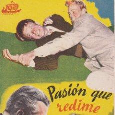 Cine: PROGRAMA DE CINE – PASION QUE REDIME – HEDY LAMARR – S/P. Lote 221601012