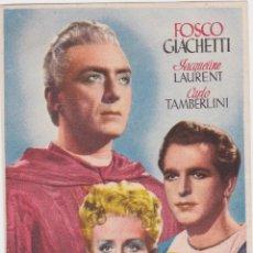 Cine: PROGRAMA DE CINE – EL CARDENAL – FOSCO GIACHETTI – S/P. Lote 221602422
