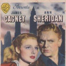 Cine: PROGRAMA DE CINE – CIUDAD DE CONQUISTA – JAMES CAGNEY – S/P. Lote 221605888
