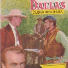 Cine: PROGRAMA DE CINE – DALLAS CIUDAD FRONTERIZA – GARY COOPER – CINE PRADO – 1954. Lote 221609392