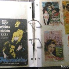 Cine: GRAN LOTE 151 PROGRAMA DE MANO DE CINE AÑOS 40 - 50 - CHAPLIN WALT DISNEY BOGART .... Lote 221661412