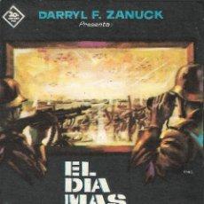 Cine: PN - PROGRAMA DE CINE - EL DÍA MÁS LARGO - JOHN WAYNE - TEATRO CINE GOYA (MÁLAGA) - 1962.. Lote 221704608