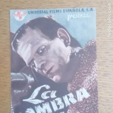 Cine: FOLLETO DE MANO, PROGRAMA DE CINE, BURGOS LA SOMBRA DE FRANKENSTEIN. Lote 221706102