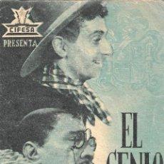 Folhetos de mão de filmes antigos de cinema: PN - PROGRAMA DOBLE - EL GENIO ALEGRE - ANTONIO VICO, LEOCADIA ALBA - CINE IDEAL (ALICANTE)- 1939.. Lote 221706268
