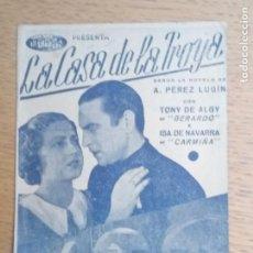 Cine: FOLLETO DE MANO, PROGRAMA DE CINE, BURGOS LA CASA DE LA TROYA. Lote 221706288