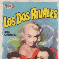 Cine: PROGRAMA DE CINE - LOS DOS RIVALES, RITA GIANNUZZI - 1960 - S/P. Lote 221711980