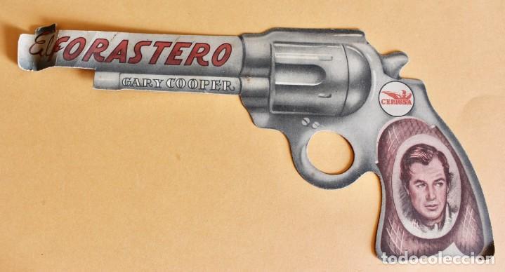 PROGRAMA TROQUELADO - EL FORASTERO - GARY COOPER (Cine - Folletos de Mano - Westerns)