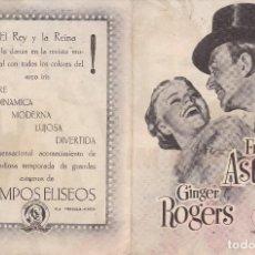 Cine: PROGRAMA DOBLE: VUELVE A MI. PUBLICIDAD CINE CAMPOS ELISEOS GIJON ASTURIAS. Lote 221826353