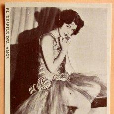 Cine: EL DESFILE DEL AMOR -1929- Nº5 - LULÚ LA SIMPATICA ARTISTA LILLIAN ROTH. Lote 221922262