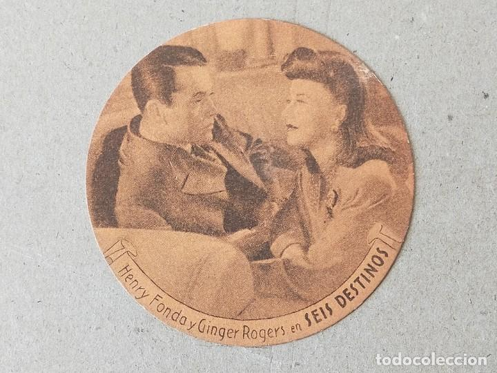 PROGRAMA DE CINE, FOLLETO: SEIS DESTINOS. HENRY FONDA Y GINGER ROGERS - 20TH CENTURY FOX (Cine - Folletos de Mano - Drama)