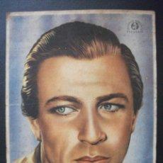 Cine: POLICIA MONTADA DEL CANADA, GARY COOPER, CINE GRAN VIA, 1946. Lote 222191820