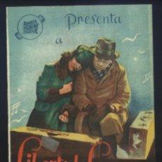 Cine: P-8952- CAMINITO DE GLORIA (DOBLE) (ALIATAR CINEMA) LIBERTAD LAMARQUE - ROBERTO AIRALDI. Lote 222195138
