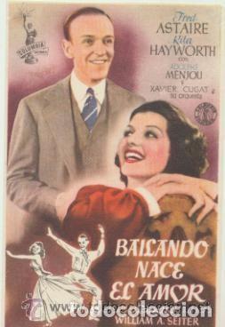 BAILANDO NACE EL AMOR (Cine - Folletos de Mano - Musicales)