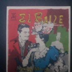 Cine: EL BAILE CON PUBLICIDAD CINE EDISON MANLLEU. Lote 222260932