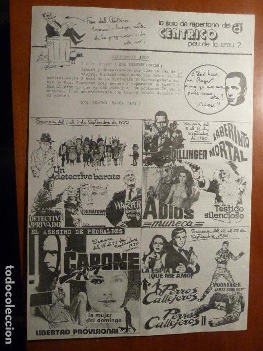 MOONRAKER LA ESPIA QUE ME AMO JAMES BOND 007 PERROS CALLEJEROS FOLLETO DE MANO CENTRICO BARCELONA (Cine - Folletos de Mano - Drama)