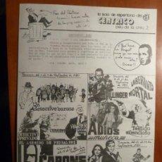Cine: MOONRAKER LA ESPIA QUE ME AMO JAMES BOND 007 PERROS CALLEJEROS FOLLETO DE MANO CENTRICO BARCELONA. Lote 222291318