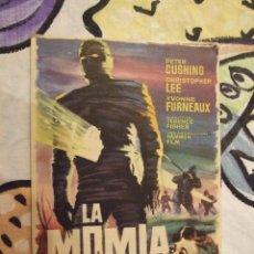 Cine: LA MOMIA - SENCILLO CON PUBLICIDAD SALON NOVEDADES - PERFECTO. Lote 222383537