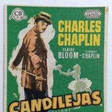 Cine: PROGRAMA DE CINE, CANDILEJAS, CINE SERRANO - CATARROJA, AÑO 1956. Lote 222550046