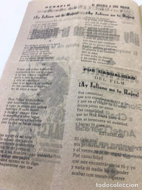 Cine: ¡¡AY JALISCO NO TE RAJES!! - CON JORGE NEGRETE Y CANCINERO EN EL INTERIOR - REF. FM-010 - Foto 4 - 222594031