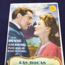 Cine: LAS ROCAS BLANCAS DE DOVER - M.G.M. - FOLLETO DE MANO SENCILLO - REF. FM-072. Lote 222710616