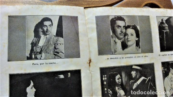 Cine: PROGRAMA DE LA PELÍCULA EL SIGNO DEL ZORRO.CON SÍNTESIS ARGUMENTO Y 48 FOTOGRAMAS.1940 APROX. - Foto 5 - 222727597
